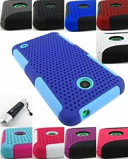 NOKIA LUMIA 520/635/630 HYBRID PLEXUS NET APEX SKIN CASE PHONE COVER +STYLUS/PEN
