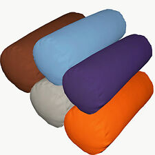 la High Quality Pure Cotton Canvas Fabric Yoga Case/Bolster/Roll Cushion Cover
