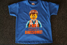 LEGO MEN EVERYTHING IS AWESOME KIDS T-SHIRT 3YR T0 12YR
