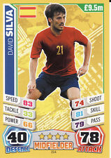 Match Attax World Cup 2014 Spain Switzerland Uruguay USA Pick from List