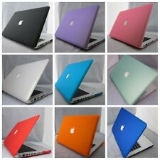 "9 Colors Rubberized Hard Case Cover For Macbook PRO 13""&15'' Laptop Shell"