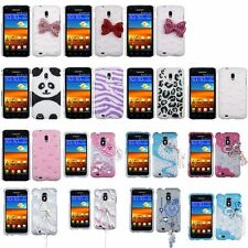 Pearl Diamante Back Case Cover For SAMSUNG D710 Epic 4G Touch R760 Galaxy S II