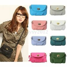 Women Leather Satchel Shoulder Handbag Purse Messenger Crossbody Tote Bag Wallet