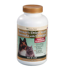 NaturVet Brewers Yeast Formula with Omegas