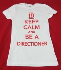 Juniors NEW One Direction 1D Keep Calm And Be A Directioner T-Shirt Size XS S L