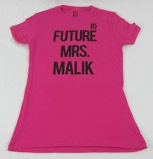 Juniors NEW Pink One Direction 1D Future Mrs. Malik Zayn T-Shirt Size XS S M XL