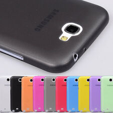 Untra Thin 0.5mm Matte Pc Case Cover Skin for Samsung Galaxy Note 2 II N7100