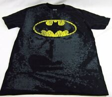 Mens DC Comics Originals Super Hero BATMAN Symbol Distressed T-Shirt Size M L
