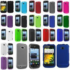 HARD PLASTIC COVER SNAP ON CASE FOR ZTE Savvy Z750c STRAIGHT TALK CELL PHONE
