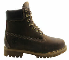 Timberland AF 6 Inch Prem Mens Boots Brown Leather Lace Up Casual 27097 WHE