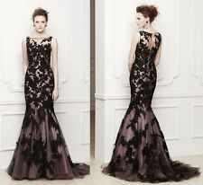 Luxury Long Mermaid Pageant Formal Ball Gown Evening Special Occasion Dress