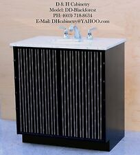 "Modern Bathroom Vanity - Modern Black Forest Bathroom Vanity : 22"" 30"" 36"" CA NY"