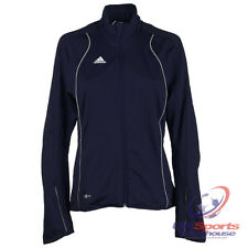 Adidas T8 Climalite Womens Olympics Teamwear Training Jacket Navy rrp£70