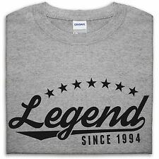 Legend Since 1994 T Shirt Men 21 20 Funny 21st Present Gift For Him Birthday