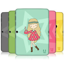 HEAD CASE FEMALE TEEN SNAP-ON BACK COVER SAMSUNG GALAXY TAB 3 10.1 P5200 P5210