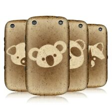 HEAD CASE BREAD ART SNAP-ON BACK COVER FOR BLACKBERRY CURVE 9320