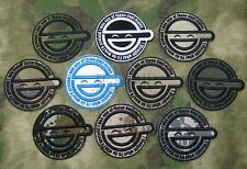 GHOST IN SHELL-STAND ALONE COMPLEX The Laughing Man Embroidery Velcro Patch