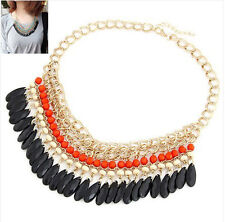 Hot Sell Korean Style Vogue Exquisite Jewelry Gem Exaggerate Alloy Necklace