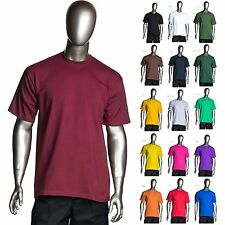 Pro Club - Heavyweight Short-Sleeve Tee Crew Neck Plain T-Shirts - Single or Lot