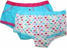 Anucci Girls 2 Pack Shortie Knickers