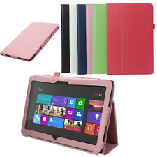 "Folio PU Leather Case Cover Stand For Microsoft Surface RT 10.6"" Inch Tablet"