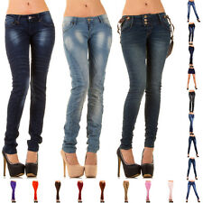 NEU DESIGNER DAMEN JEANS HOSE ROCK 7d5a SKINNY STRETCH LEGGINGS SHORTS