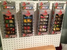 NASCAR 5 PACK 1:64 DIECAST RACEING CHAMPIONS FAN APPRICATION ISSUE 10 YEARS