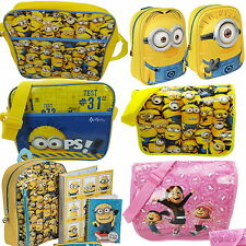 Despicable Me Minions Messenger School Bag New Gift Despatch Backpack Rucksack