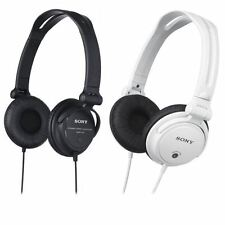Sony MDRV150 Monitor Stereo DJ Headphones Earphones New