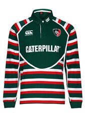 Canterbury Leicester Tigers Shirt Home Classic Long Sleeve 2012/2013