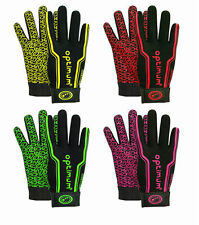 Optimum Velocity Full Finger Thermal Stik Mit Rugby Gloves Size Small - XL