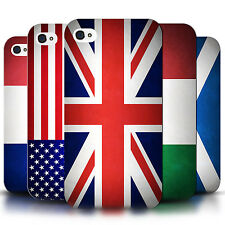 STUFF4 Phone Case/Back Cover for Apple iPhone 4/4S /Flags