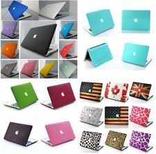 "26 Color Rubberized Hard Case Cover For Macbook Pro 13""&15"" 2009-2013 Cut-OUT"