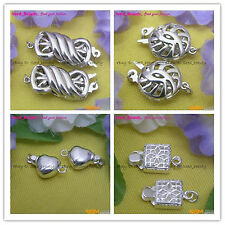 Unique S925 Sterling Silver Clasps/Connector Jewelry DIY
