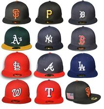 New Era 59FIFTY - MLB 2014 American Patch American Flag 9/11 STARS AND STRIPES