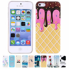 CHEAP! Romantic Cartoon Snap Hard Shell Back Phone Case Cover For iPhone 5 5S