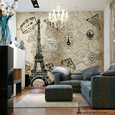 3D Large Eiffel Tower Wall Paper Wall Print Decal Wall Deco wall Mural Home Kids