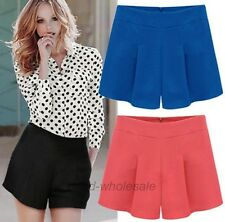 New Fashion Women's Summer Casual Shorts Short Pants Hot Pants Culotte 6 Size