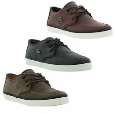 Lacoste Sevrin 4 SRM Mens Lace-up Suede Fashion Trainers Shoes Sizes UK 7 - 12