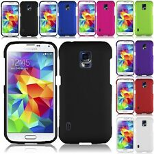 Color Rubberized Hard Case Snap On Phone Cover For Samsung Galaxy S5 Active G870
