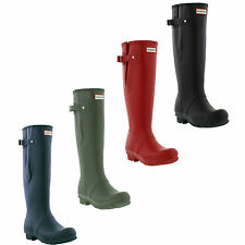 Hunter Wellington Boots Original Adjustable Monochrome Wide Welly Sizes UK 4 - 9