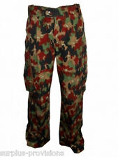 Swiss Army Alpenflage BDU Cargo Pants -Choice of sizes- Military Surplus #SL-103