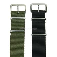 20mm Military Army Woven Nylon Fiber Watch Wristwatch Band Strap Unisex Sport