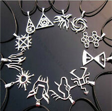 KPOP EXO EXO-M EXO-K Necklace Leather Necklaces Constellation Hand-made Jewerly