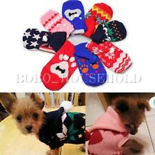 Dog Pet Puppy Hoodie Hooded Sweater Knitwear Clothes Knit Coat  Winter Warm New