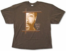 MARVIN GAYE - WHAT'S GOING ON PHOTO BROWN T-SHIRT NEW OFFICIAL ADULT
