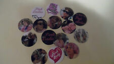 Pre Cut One Inch Bottle Cap Images! MOVIE GREASE  PINK LADIES FREE SHIP IN U.S.