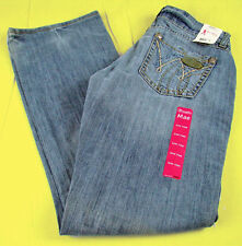 Womens Wrangler Western Jeans Premium Patch Mae Low Rise Dancing Queen Any Size