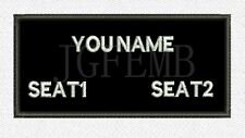 Custom name Tapes Text brand Morale tactics Military Embroidery Velcro Patch