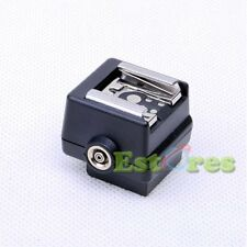 5 10 HD-N3 Flash Hot shoe Adapter For Sony Camera to Canon Nikon Flash PC socket